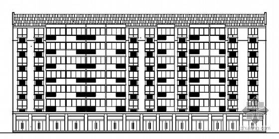 某七层住宅楼建筑方案图