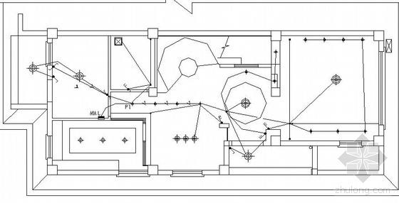 某复式住宅装修电气施工图