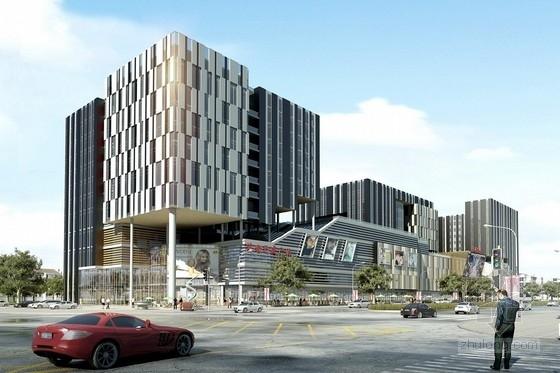 [安徽]某十一层购物商场建筑设计方案文本