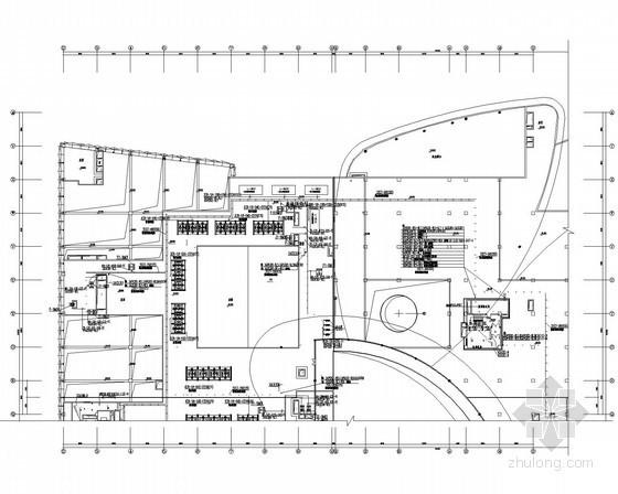[江苏]大型生活广场全套电气施工图纸218张
