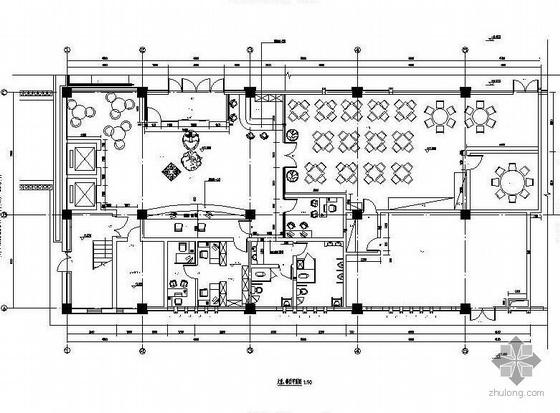 商务连锁酒店施工图纸(装饰.水电)