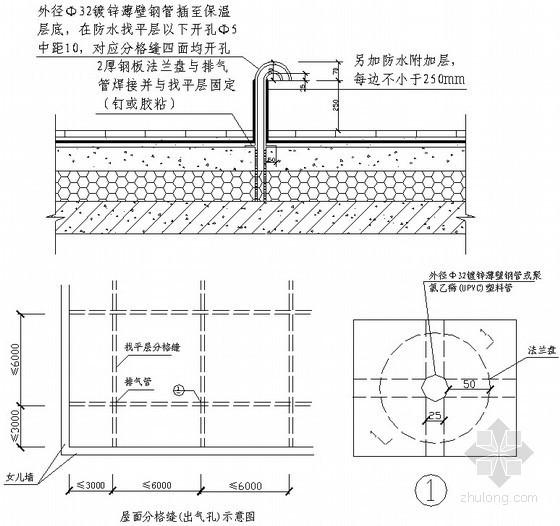 [天津]生态园屋面工程施工方案(节点详图)