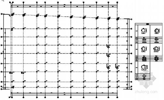 四层框架结构停车楼结构施工图