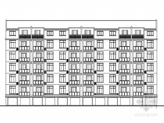 某七层单元式多层住宅建筑施工图