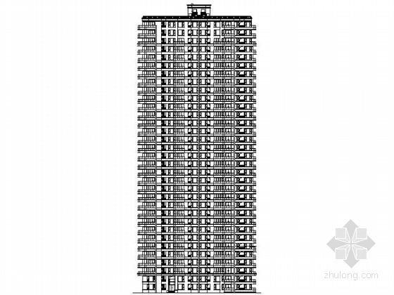 [苏州]某三十三层二梯五户住宅楼建筑施工图