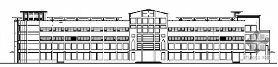 某四层大型商场建筑施工图
