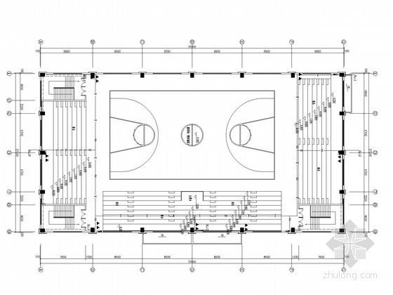 [湖南]体育馆给排水施工图纸