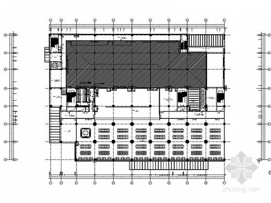 [辽宁]中国电信业巨头控股集团办公楼装修设计施工图(含效果)