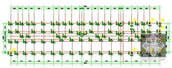 [浙江]2栋住宅楼(含地下室)建筑工程量计算及预算书(含施工图纸)-柱配筋