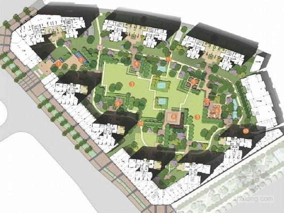 [江西]五彩台风情庭院景观规划设计方案