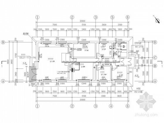 生产用房电采暖设计施工图