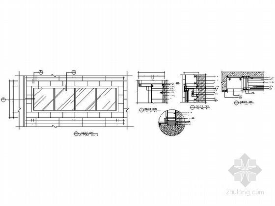 免费下载!成套灯箱装饰节点详图CAD图块下载