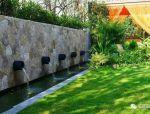 做一面水景墙,你的庭院也可以美上天