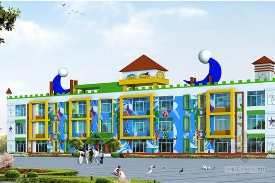 [河北]幼儿园主楼安装工程预算书(广联达实例)