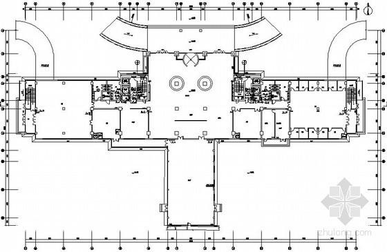 高层综合楼给排水全套施工图纸(含水喷雾系统)