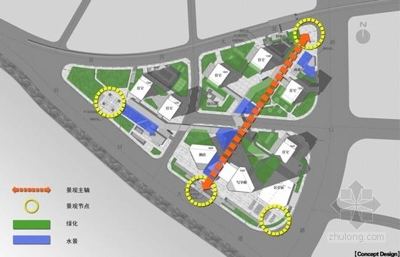 [武汉]开敞式小区景观规划设计方案-景观分析