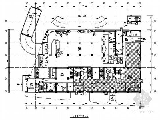 [江苏]社会科学研究机构高等干部学院新校区宿舍装修设计施工图(含方案)