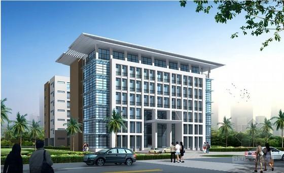 [重庆]办公楼建安工程投资估算实例(2011)
