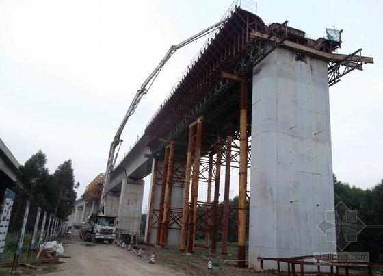 城市高架桥预应力混凝土现浇箱梁施工方案(61页)