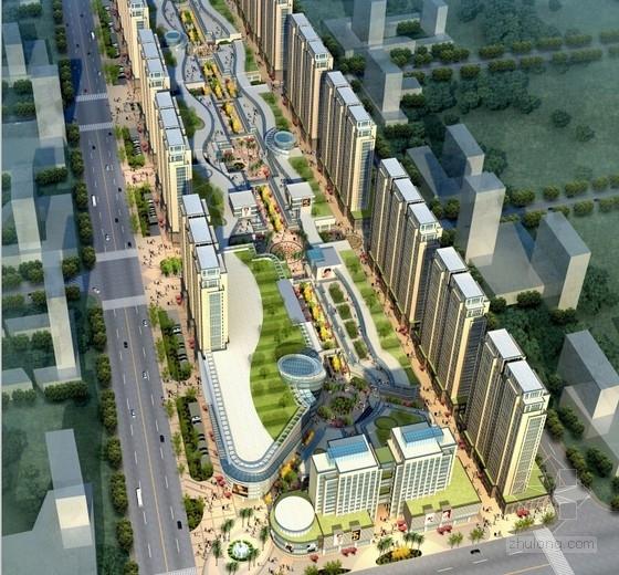 [江苏]通廊式商业步行内街及居住区改造设计方案文本