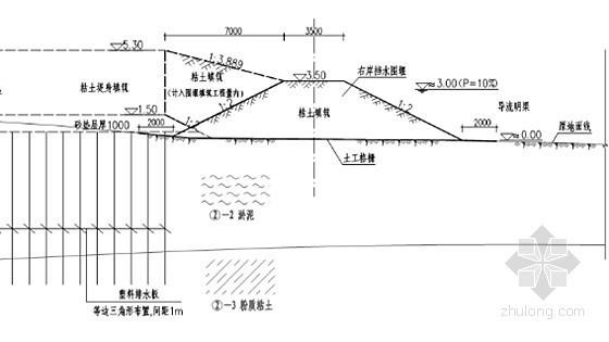 [广东]河涌堤岸整治工程施工组织设计108页(编制于2015年)