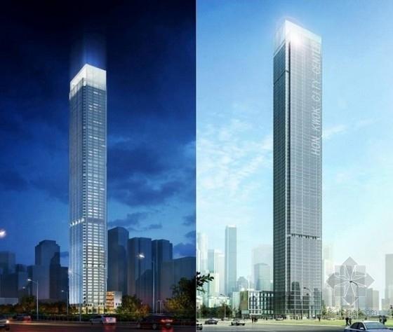 [广东]75层(含钢结构伸臂桁架)型钢混凝土框架核心筒结构超高层综合楼结构施工图(330米)