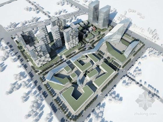 [四川]现代风格城市综合体规划设计方案文本(四个地块)