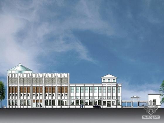 [北京新街口]某名人纪念馆改扩建方案(含效果图及设计说明)
