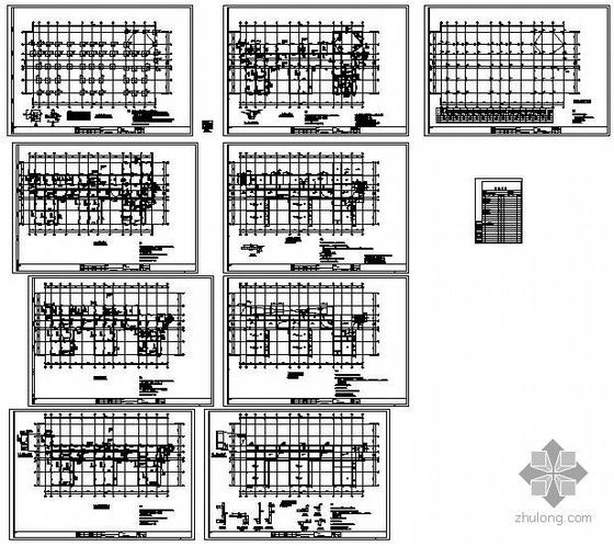 北京某小区幼儿园结构图