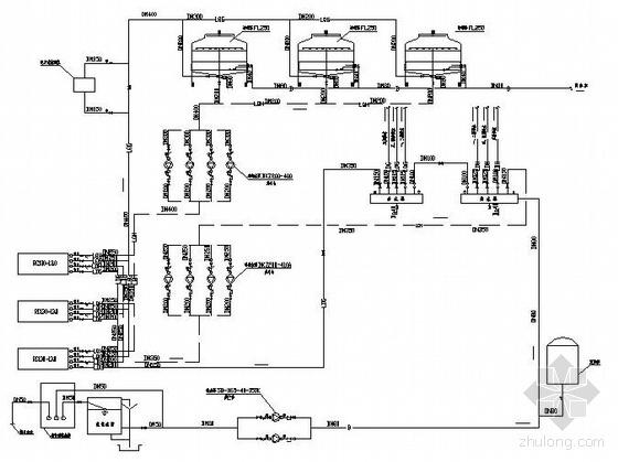某办公楼制冷机房设计图