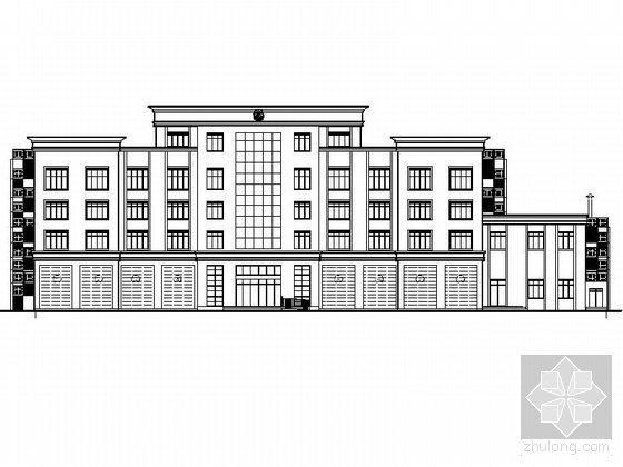 [西宁]某消防站建筑施工图