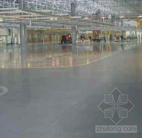 环氧树脂重载型砂浆耐磨地坪