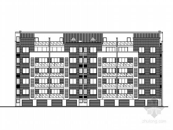 六层商品房设计图纸