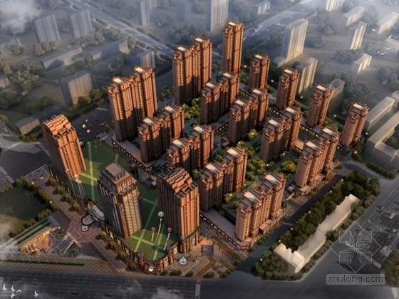 [新疆]某artdeco小区规划及单体设计方案文本