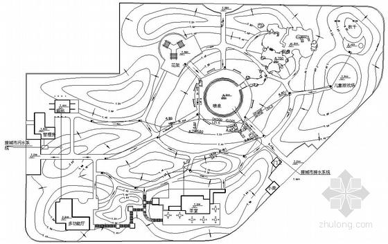 某公园排水设计图纸