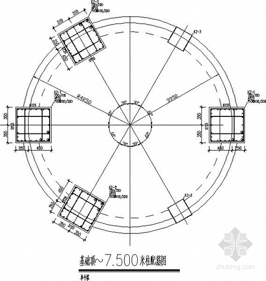 圆形料仓结构施工图