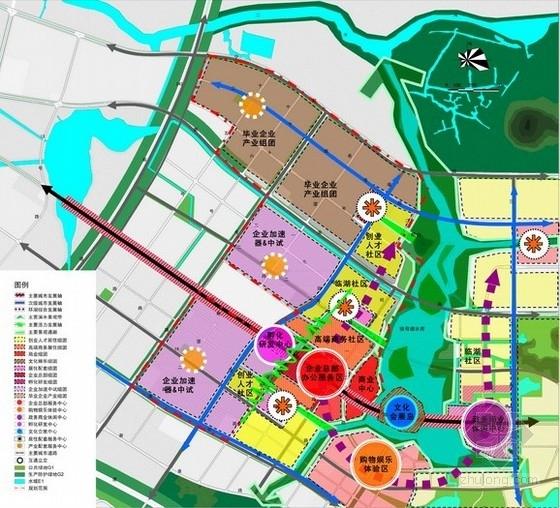 [南京]某国际企业园控制性详细规划方案文本