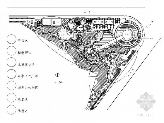 [广东]生态休闲城市公园景观设计施工图