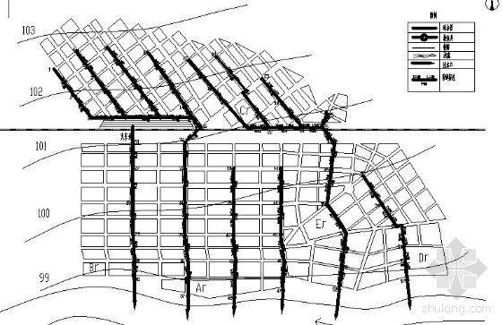 某城区市政给排水管网毕业设计(带设计说明书)