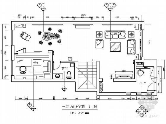 [北京]中式四层别墅室内装修图