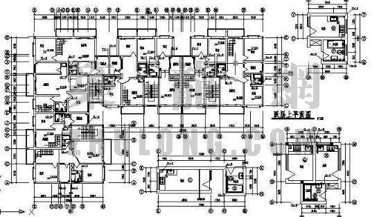 某七层综合业务楼水施工图