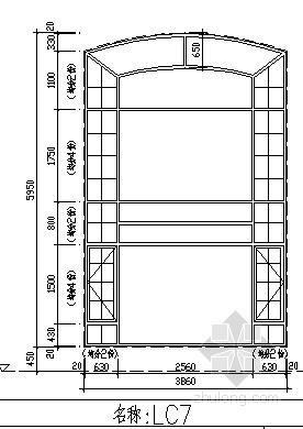 门窗通用节点详图(正规设计院)