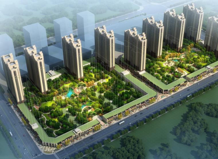 [安徽]亳州万达广场居住区景观方案设计(PDF+76页)