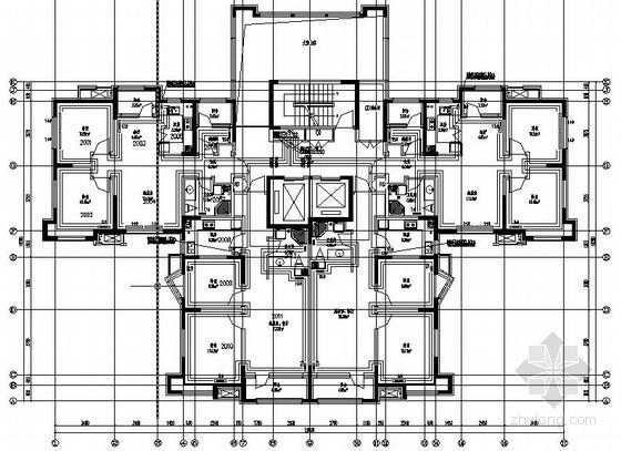 [天津]住宅楼暖通设计施工图