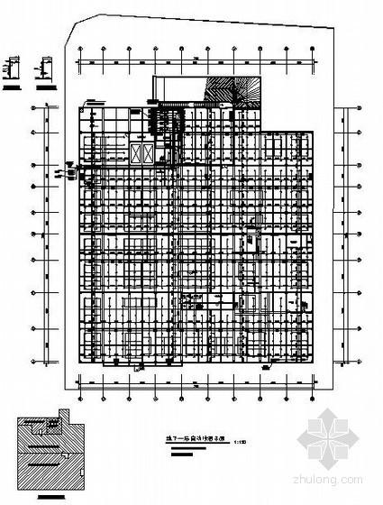 4S店给排水设计图