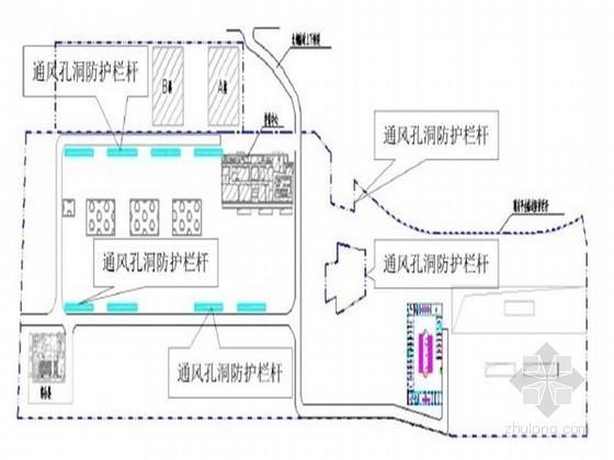 [上海]大型平台施工阶段安全防护专项施工方案