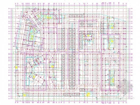 [南京]知名城市广场强弱电系统电气图535张(办公酒店SOHO公寓 50万平)
