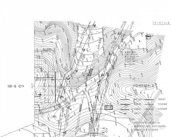 重庆城市次干道综合管网施工图(给水 电气 燃气 通信)