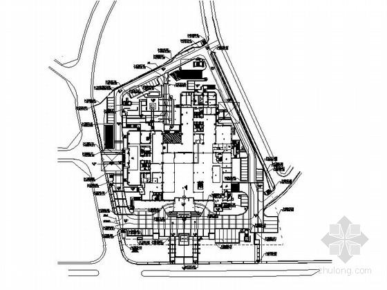 [浙江]现代商务酒店室外景观绿化施工图