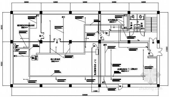 [北京]证劵公司信息机房电气施工图纸